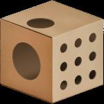 KOTarton MODUŁ:A zabawa [kart] pudełko dla kota
