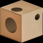 KOTarton MODUŁ:B kryjówka [kart] karton dla kota